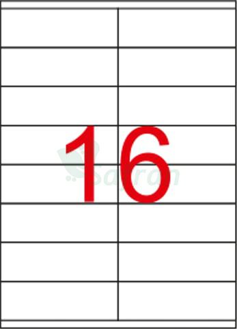 RENKLİ  LAZER ETİKET   105 X 36