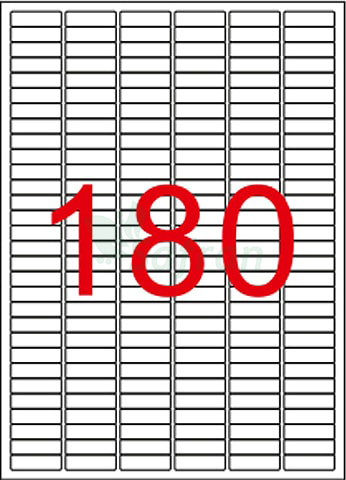 RENKLİ LAZER ETİKET 30 X 9