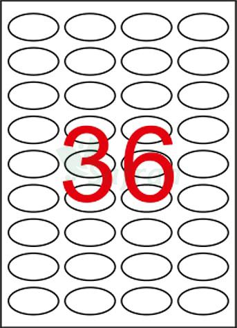 RENKLİ LAZER ETİKET 40.5 X 25.4