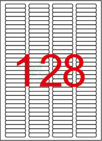 RENKLİ LAZER ETİKET 43.2 X 8.5