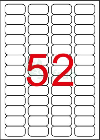 RENKLİ LAZER ETİKET 46.4 X 21.2