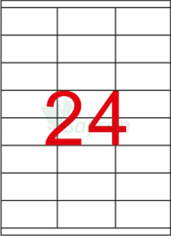 RENKLİ LAZER ETİKET 70 X 35