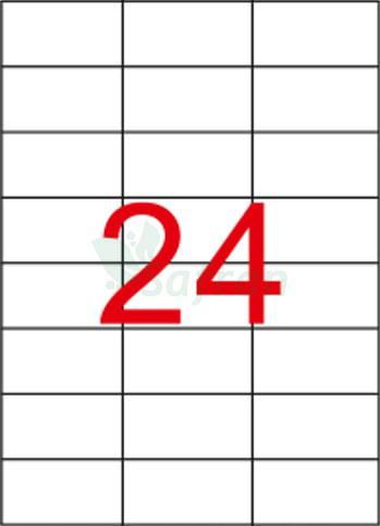 RENKLİ LAZER ETİKET 70 X 37.11