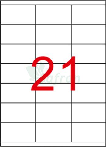 RENKLİ LAZER ETİKET 70 X 38