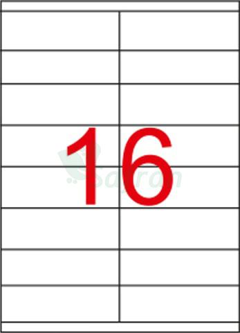 SAFRAN LAZER ETİKET   105 X 35