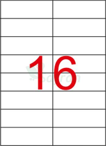 SAFRAN LAZER ETİKET   105 X 37.11