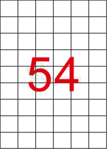 SAFRAN LAZER ETİKET 35 X 32.98