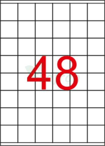 SAFRAN LAZER ETİKET 35 X 37.11