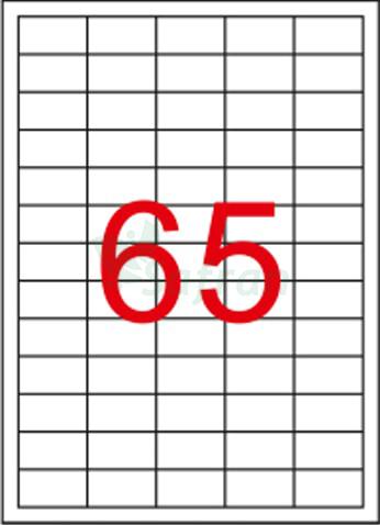 SAFRAN LAZER ETİKET 38.1 X 21.2