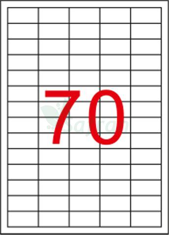SAFRAN LAZER ETİKET 40 X 20