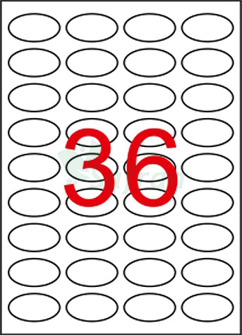 SAFRAN LAZER ETİKET 40.5 X 25.4