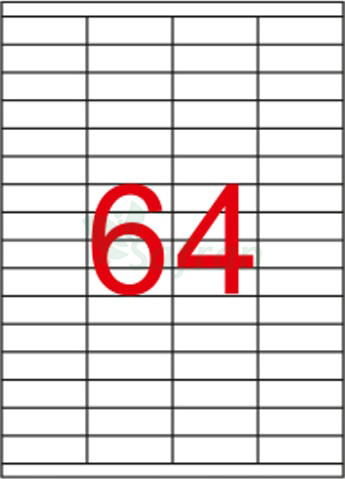SAFRAN LAZER ETİKET 52.5 X 18