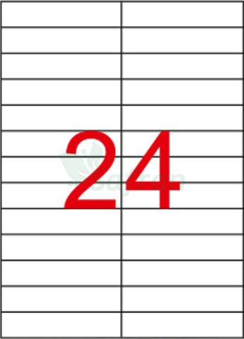 ŞEFFAF LAZER ETİKET 105 X 23