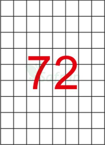 ŞEFFAF LAZER ETİKET 26.25 X 32.98