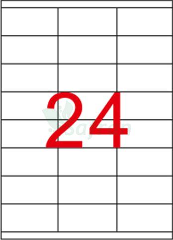 TANEX LAZER ETİKET 70 X 35